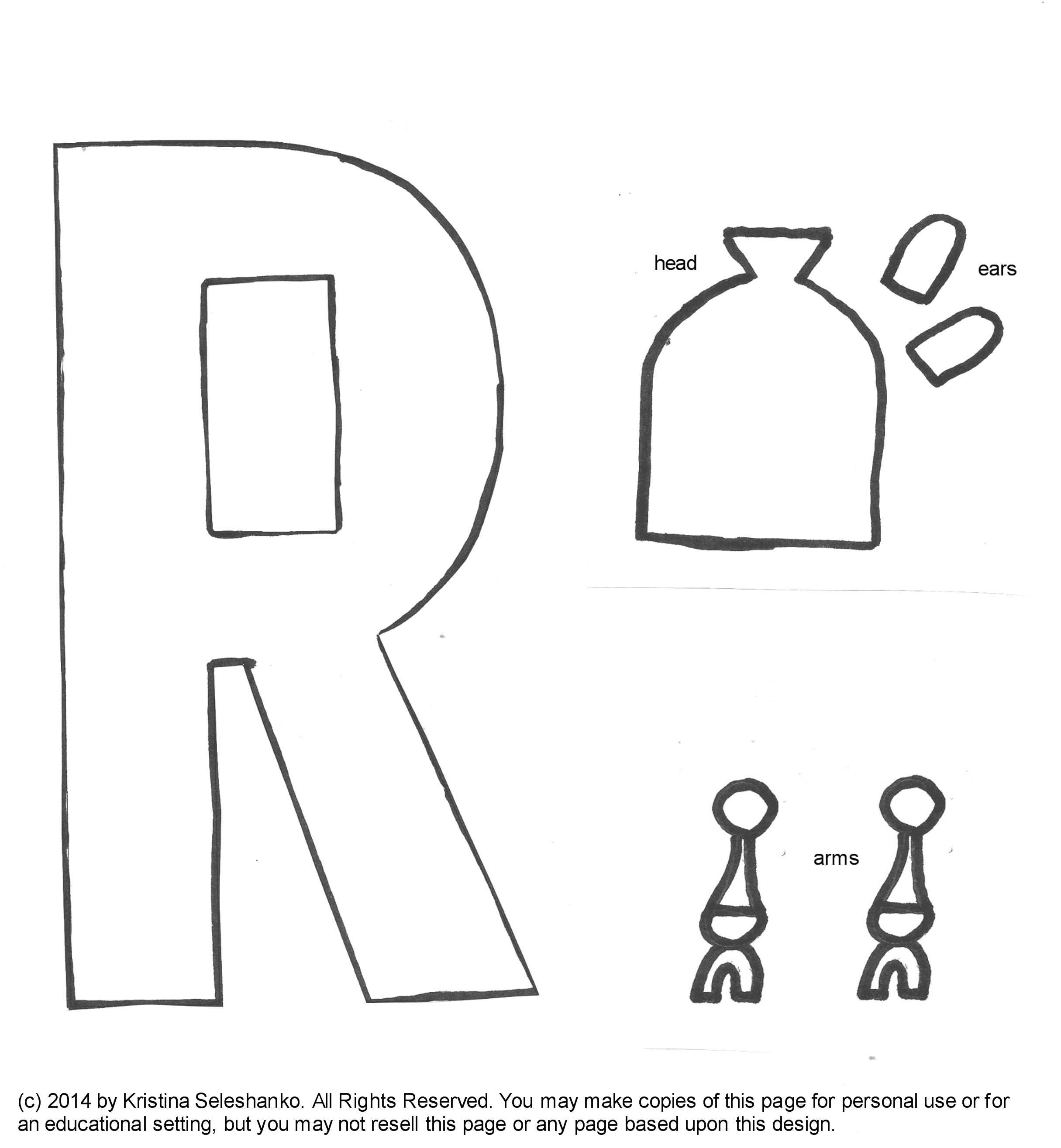 Letter R Crafts Made A Rainbow Letter R Your Own Rainbow